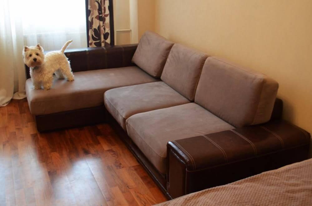 Перетяжка дивана дешево