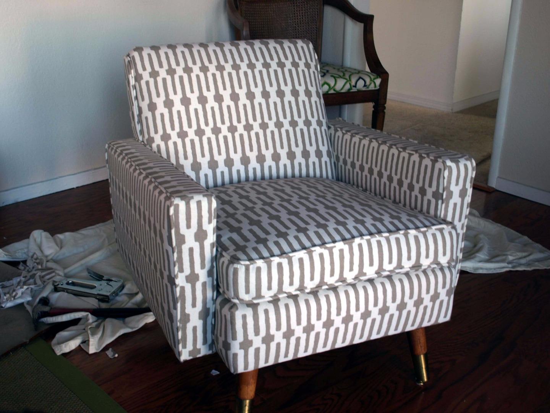 Кресло кровать из старого кресла своими руками